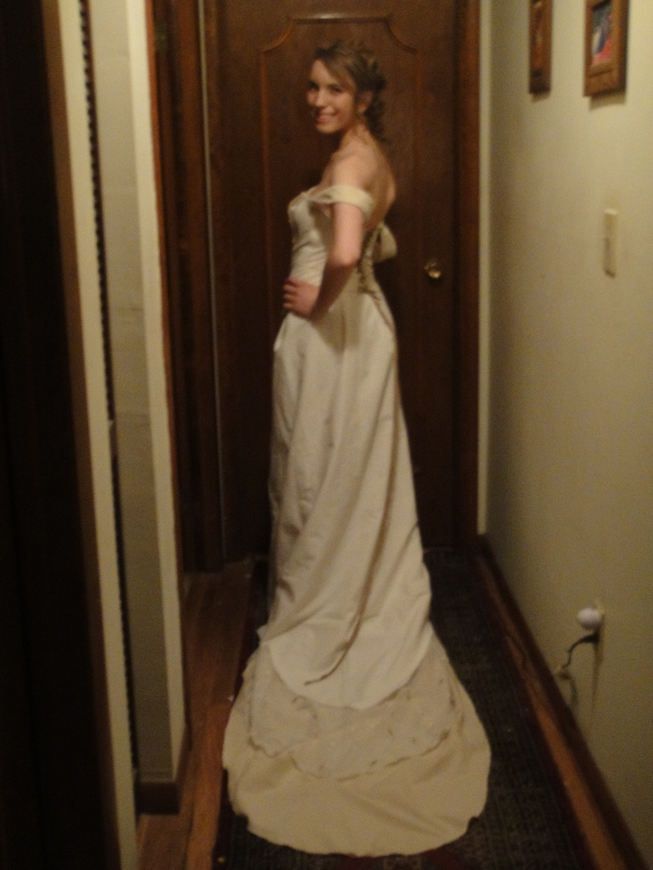 i made this dress to look like taylor swifts dress in her