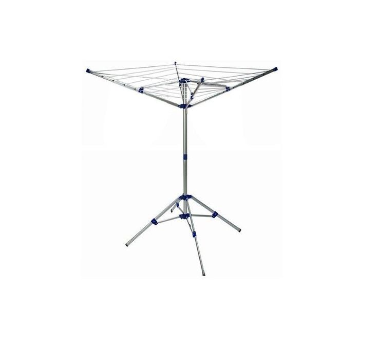 Washing Clothes Line Rotary Airer Dryer 4 Arm Folding Outdoor Garden Laundry NEW
