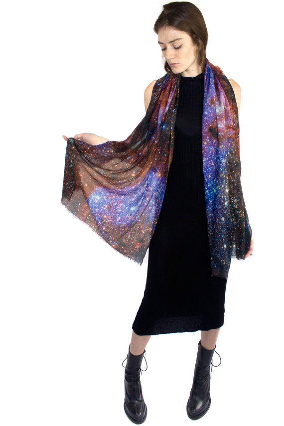 Bufanda de lana de cachemira de manera lechosa por Shadowplaynyc