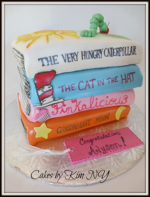 Cake Decorated Like Books : 1000+ images about Book cakes on Pinterest Open book ...
