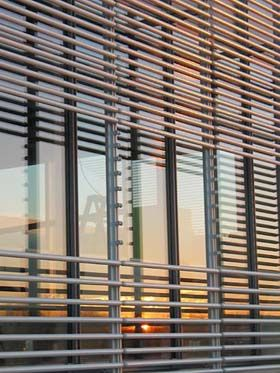 A Double Skin Curtain Wall Was Incorporated To Reduce The