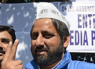 growing india: Amanatullah Khan resigns from AAP post
