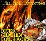Pack of hobo chicken leaves on a campfire – Delicious dinners – #Campfire #Chicken …   – Foil Pack Meals