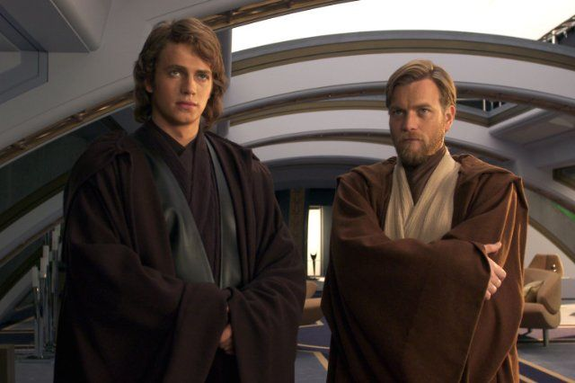 *DARTH VADER/ANAKIN SKYWALKER (Hayden Christensen) & OBI-WAN KENOBI (Ewan Mc Gregor) ~ Star Wars: Episode III - Revenge of the Sith (2005)