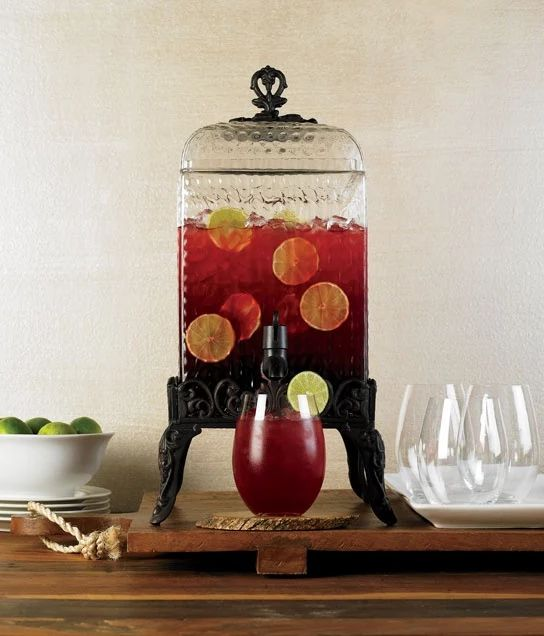 classic hostess is serving up some holiday vibe with the christmas drink dispenser giveaway the paris hammered glass drink dispenser is an elegant 2 gallon - Beverage Dispenser With Stand