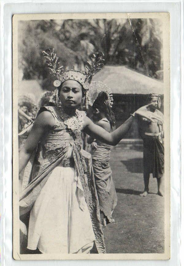 Indonesia Bali Legong Dancer 1920s