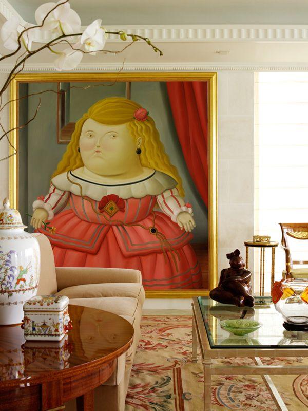 Hermosa pintura del colombiano Fernando Botero. Qué orgullo !!!!