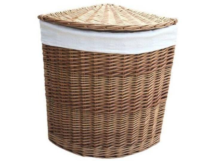 Waschebehalter Aus Korbgeflecht Corner Laundry Basket Basket