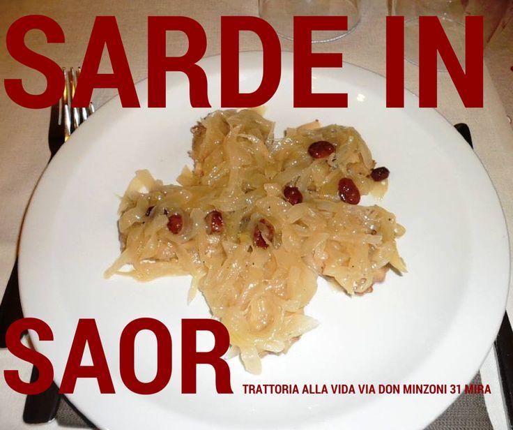 Sarde in Saor, un piatto semplice e della tradizione culinaria veneta.
