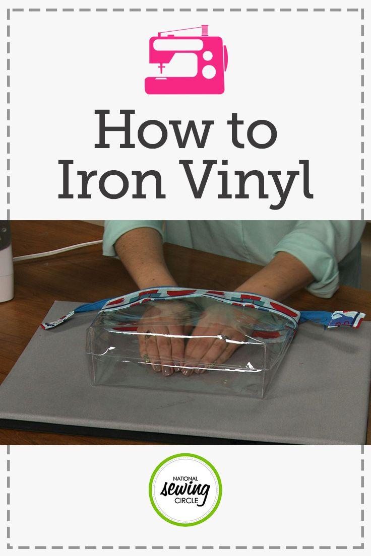 How to Iron Vinyl