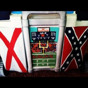 Greek DIY: Coolers for Fraternity formals  Love this! War Damn