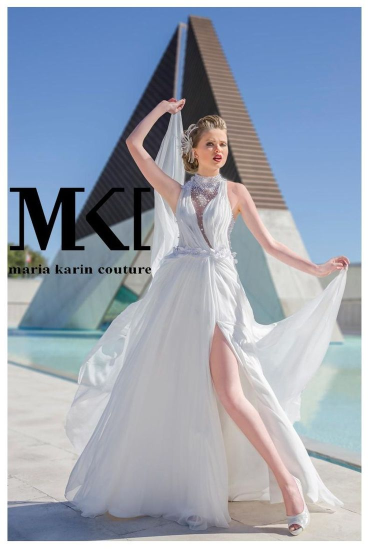 Gorgeous brides need gorgeous dresses, this dress will amaze anyone who sees you with it :D #MariaKarinCouture