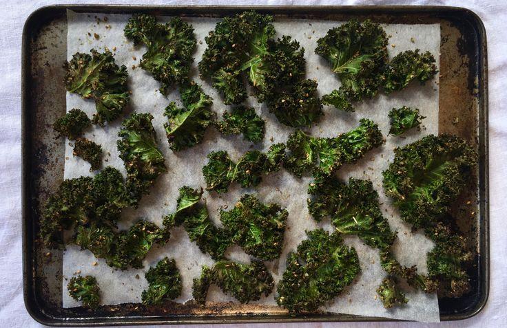 Za'atar & Sea Salt Kale Chips – Model Turned Cook