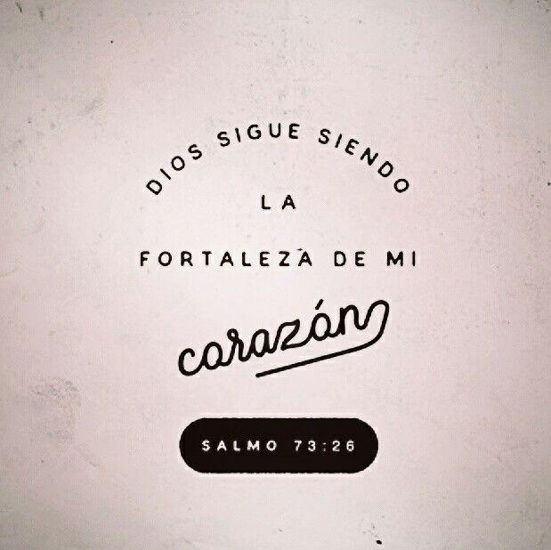 Mi carne y mi corazón desfallecen;Mas la roca de mi corazón y mi porción es Dios para siempre. Salmos 73:26
