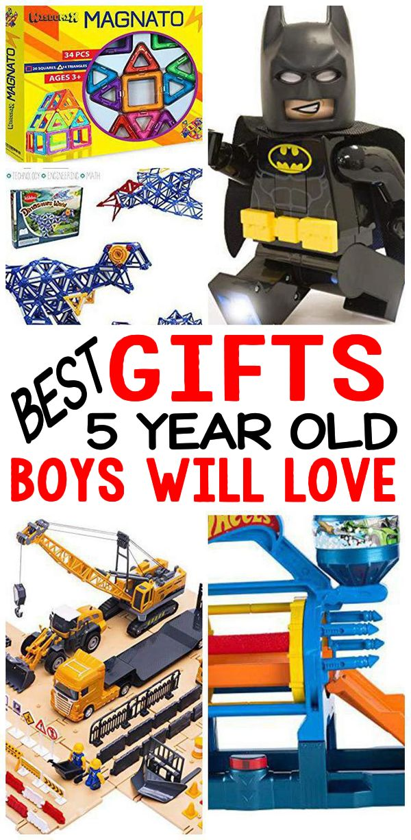 Gifts 5 Year Old Boys BEST Gift Ideas For 5th Birthday Christmas Holiday Or Just Because Cool Presents That Will Love