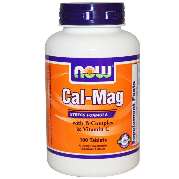 Now Foods, Cal-Mag, Stress Formula, 100 Tablets  #stress #formula #support #balance #management #iherb #thingstobuy #shopping #relief