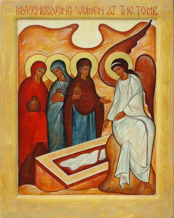 myrrh bearing women icon