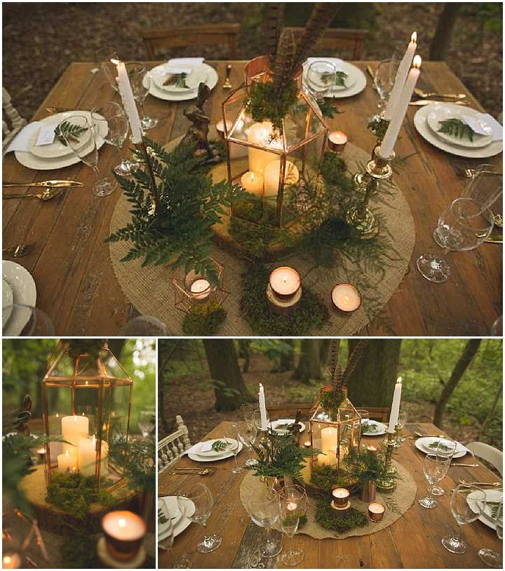 Woodland Luxe Wedding Inspiration by the Rustic Wedding Company  http://wedding-caribbean.com/