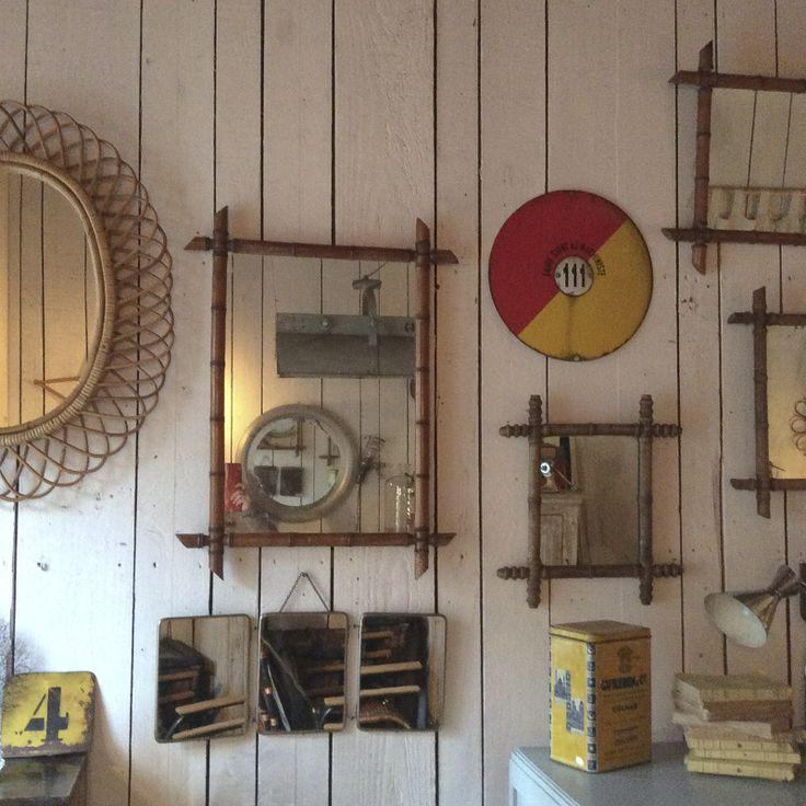 Les 25 meilleures id es de la cat gorie miroir de bambou for Miroir bambou