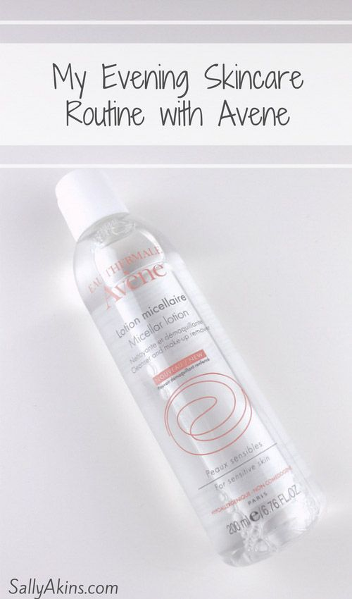 An effective cleansing routine is an important part of good skincare. And since I turned forty, I've really noticed the difference that a good evening skincare routine can make to my skin.    Click through to SallyAkins.com to find out how Avene Micellar Lotion helps me make sure my skin is perfectly clean (#ad) via @sallyakins