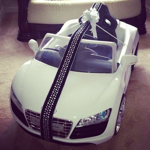 This is the only Audi my kids will have... And even it is probably cheap! Lmao.