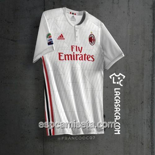 Nueva Camiseta Segunda Tailandia del AC Milan 2017 2018 | outlet españa
