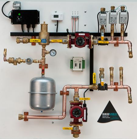 Eagle Mountain Radiant    Heating    Hydronic Control Panel