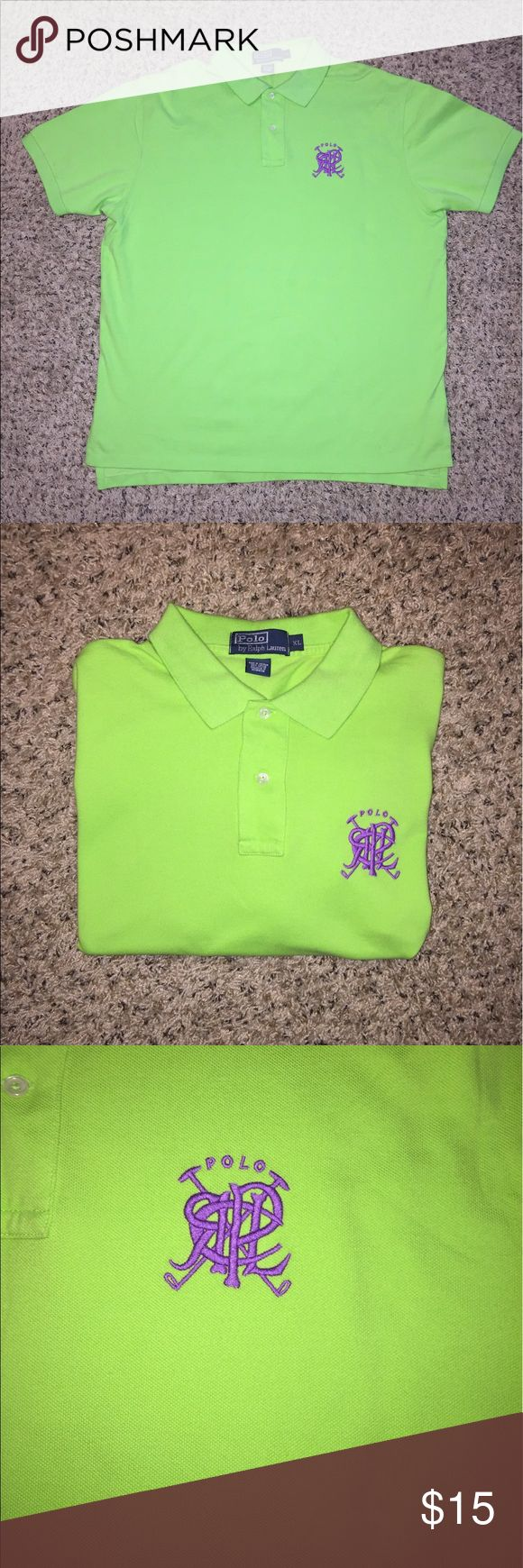 Polo by Ralph Lauren Lime Green Polo Polo by Ralph Lauren Lime Green Polo.  Size XL. Shirt is preowned and in good condition.  No rips, stains or holes.  From a smoke free home. Ralph Lauren Shirts Polos
