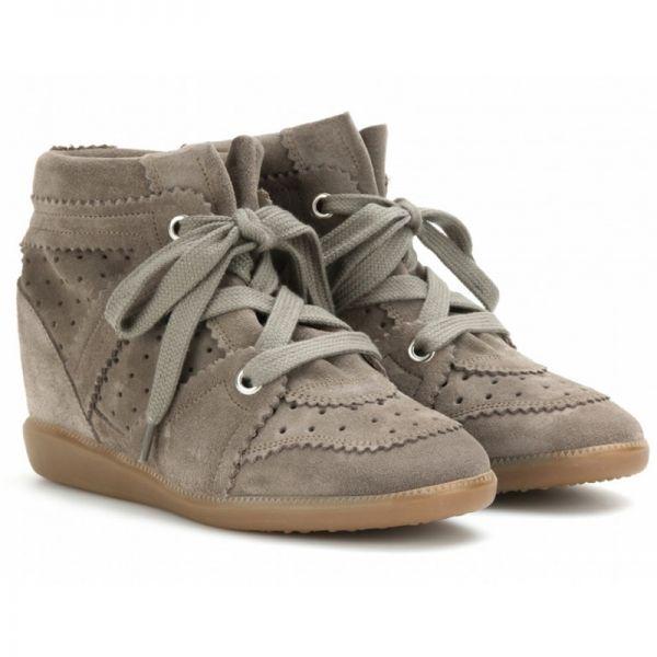 Sneakers compensées Isabel Marant - Le dressing Mode de Captendance