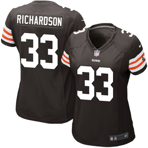 Jay Cutler jersey Trent Richardson Cleveland Browns Historic Logo Nike Women's Game Jersey - Brown Seahawks Russell Wilson 3 jersey Muhammad Wilkerson jersey