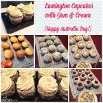 Recipe: Lamington Cupcakes with Jam & Cream {Happy Australia Day to my fellow Aussies!}