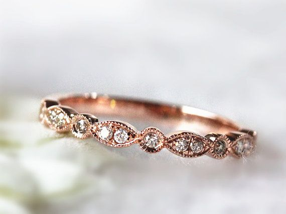 Hey, I found this really awesome Etsy listing at https://www.etsy.com/listing/197895718/antique-diamond-band-14k-solid-gold