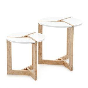 Sada 2 kávových stolků Varm