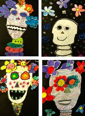 Crafty crow day of the dead kids crafts dia de los for Day of the dead arts and crafts