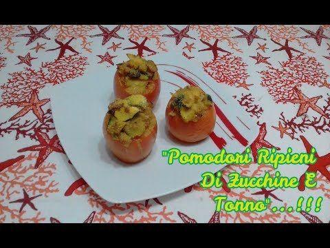 """""""Pomodori🍅 Ripieni Di Zucchine E Tonno😋""""...!!! #pomodori #pomodoriripieni #zucchine #zucchina #pomodoro #tonno #capperi #verdure #ricette #ricetta #food vi aspetto sul mio canale #youtube per vedere il #video #cucina #recipes"""