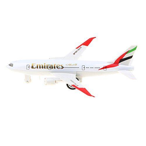 Aleación  777 avión con sonido y luz modelo de juguete para niños