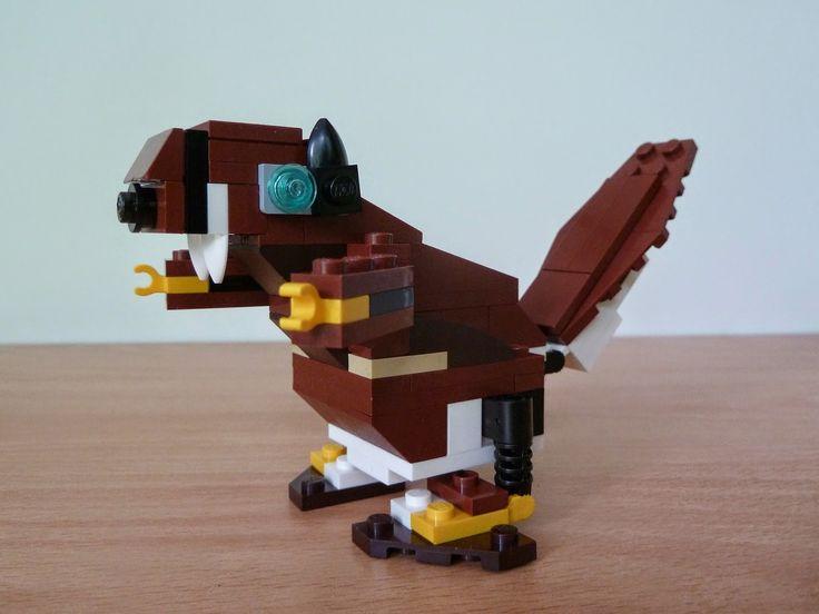 Totobricks: LEGO 31004 LEGO CREATOR 3 IN 1 Fierce Flyer Beaver... http://www.totobricks.com/2014/12/lego-31004-lego-creator-3-in-1-fierce_16.html