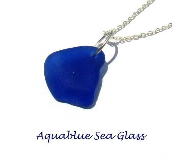 1052 best drilled sea glass sea glass supplies images on pinterest drilled sea glass cobalt pendant 611 aloadofball