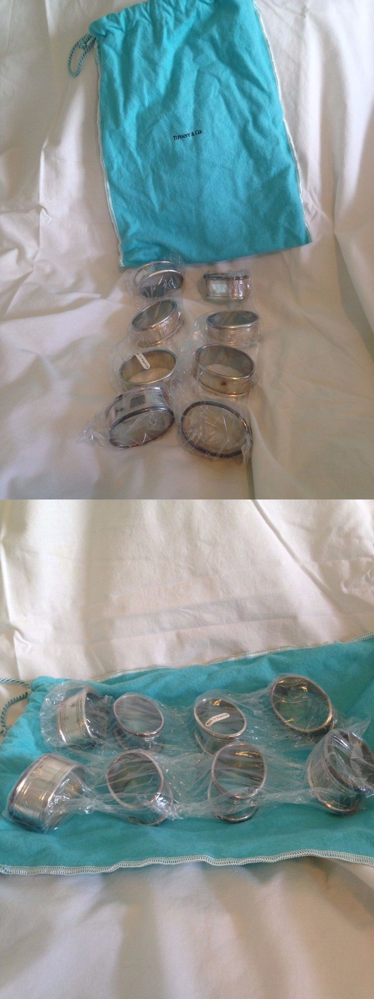 Napkin Rings and Holders 20658: Lappas Sterling Silver Napkin Rings -- Vintage, Original Packaging! -> BUY IT NOW ONLY: $125 on eBay!