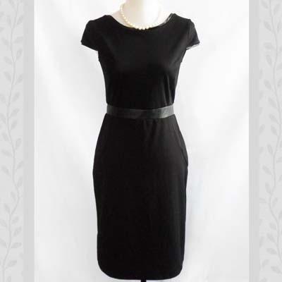 Black Sheath Dress ... (very Audrey Hepburn!)