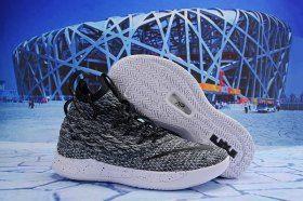 d0e70b600e6 Nike LeBron 15. 5 Burgundy Wolf Grey Black White James Trainers Men s  Basketball Shoes
