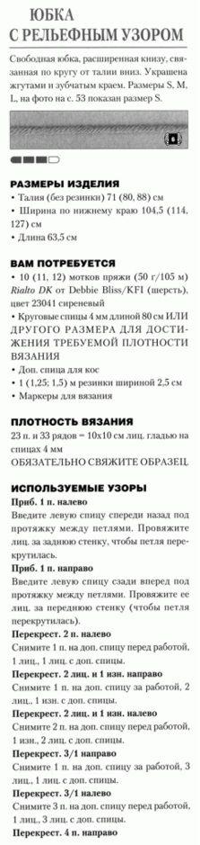 Схема юбки спицами: Дневник группы «ВЯЖЕМ ПО ОПИСАНИЮ»: Группы - женская социальная сеть myJulia.ru