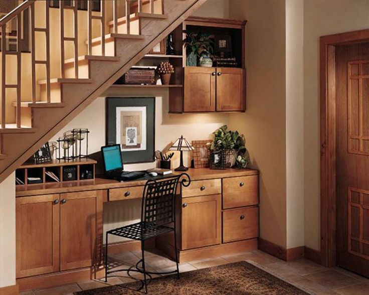 Best Basement Office Under Stairs Home Pinterest 640 x 480