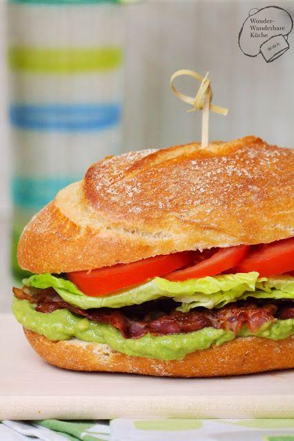 Wonder Wunderbare Küche: BLT Sandwich mit Avocado