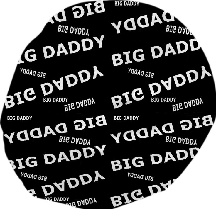 Big Daddy Bean Bag for his game room!  ($180.00) #gameroom #BigDaddy