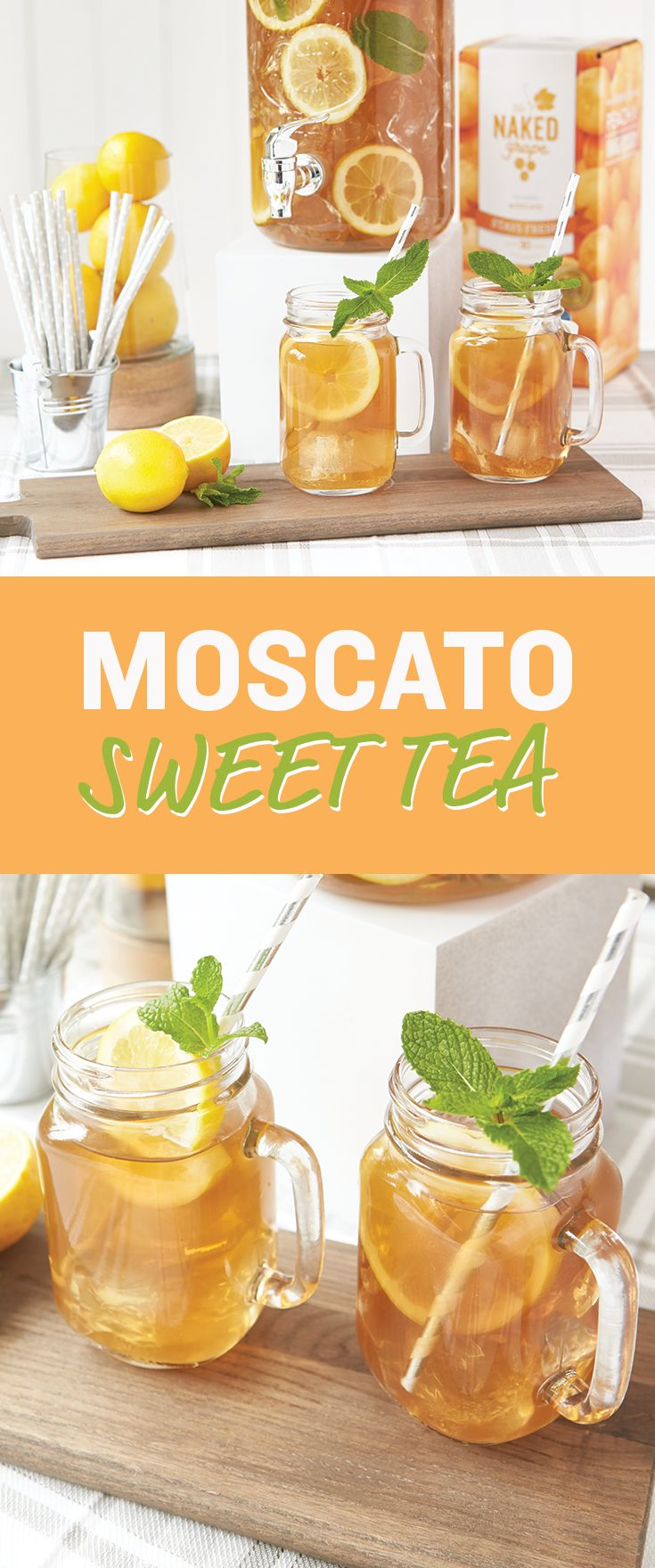 Sweet tea just got even better -- with a Moscato twist!