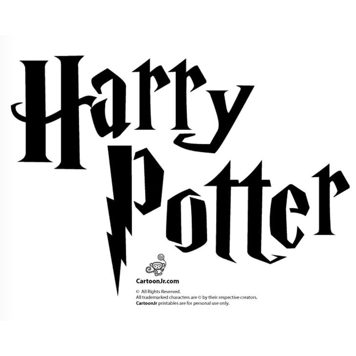15 Harry Potter Cartoon Hogwarts Wizards JK Rowling Skate Phone Laptop Stickers
