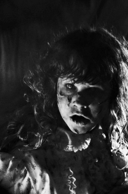 The exorcist. This movie STILL scares me, I sleep with the lights on for a week after watching this!!: