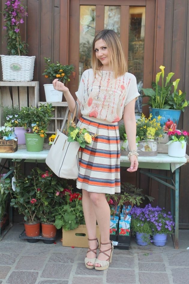 Toni neutri – fashion blogger outfit per la giornata della Terra