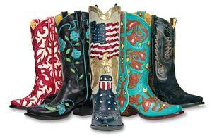 Where Do Celebs Get their Cowboy Boots? Santa Fe's Back at The Ranch: Back at the Ranch, the Celebrity Cowboy Boot Store in Santa Fe, New Mexico